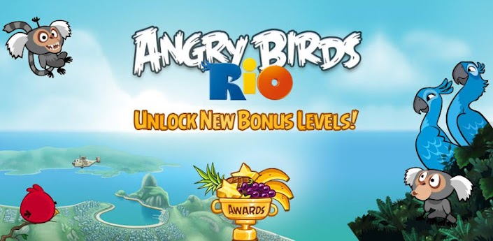 angry birds rio new android apk 2