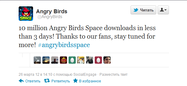 angry birds space 3 mln download
