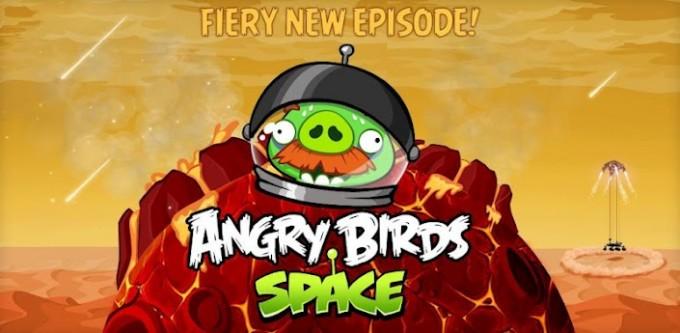 angry birds mars