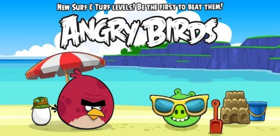 angry birds android 15 tropical level