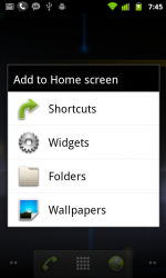 home screen android