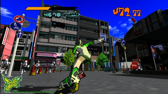 SEGA's Jet Set Radio android apk