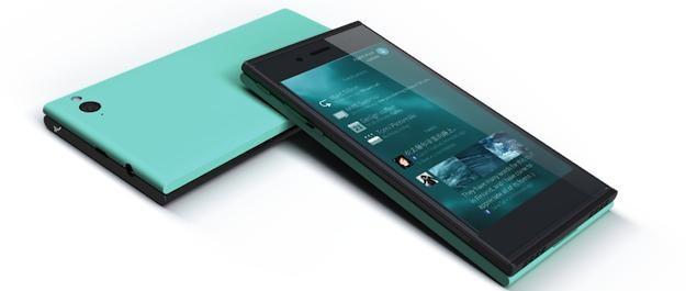 Jolla - первый смартфон на ОС Sailfish