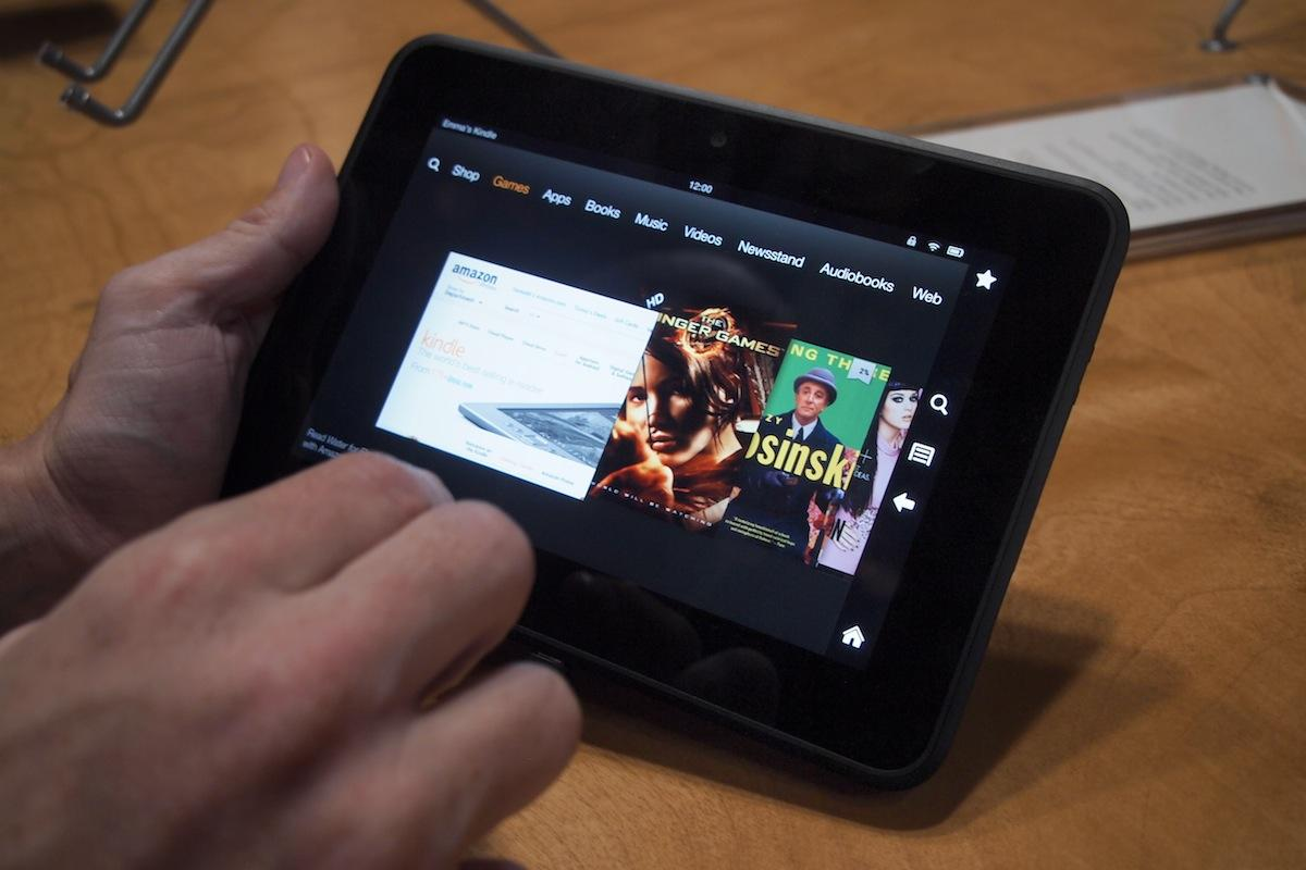 Как ведут себя Google приложения на Kindle Fire HD