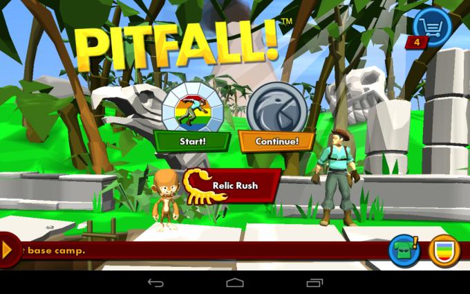 Небольшое путешествие в прошлое вместе с Pitfall и Android