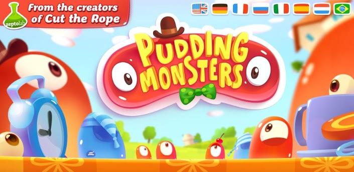 Пудинговые Монстры (Pudding Monsters) атаковали Гугл Плей - новый шедевр от создателей Cut The Rope!