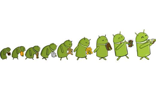 Немного о каждой версии ОС Android
