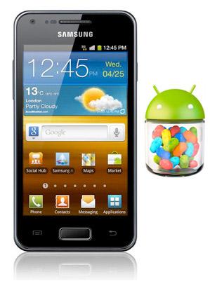 Вскоре Samsung Galaxy S Advance можно будет обновить до Android 4.1.2 Jelly Bean