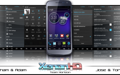 Устанавливаем кастомный ROM XenonHD Android 4.2 на Samsung Galaxy Nexus I9250