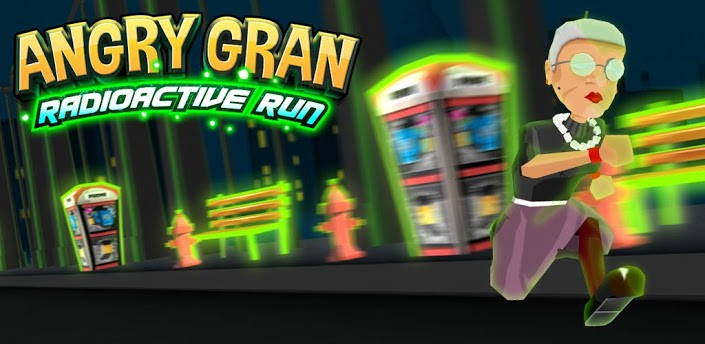 Angry Gran RadioActive Run android apk