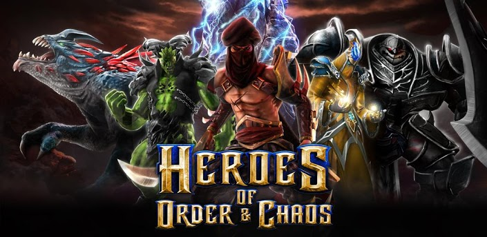 Heroes of Order & Chaos android dota