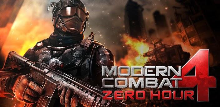 Modern Combat 4 Zero Hour android apk