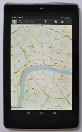 Nexus 7 лучшие приложения для офлайн навигации