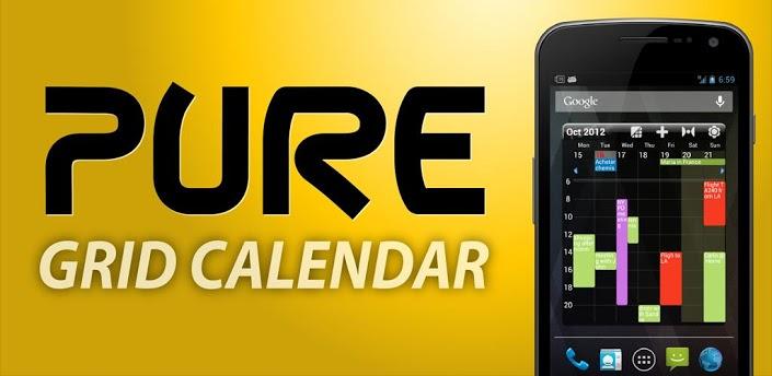 Pure Grid Calendar