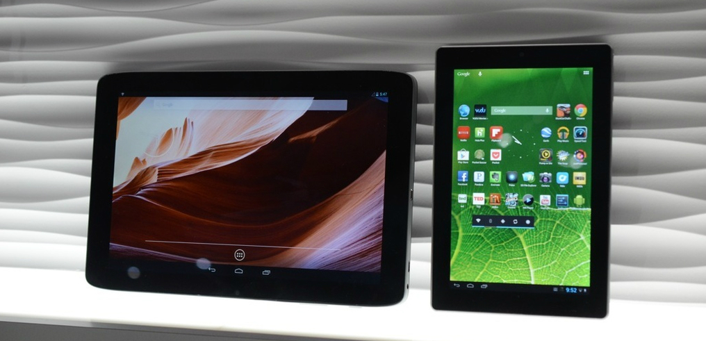 Vizio представили 3 планшета за первый день CES 2013