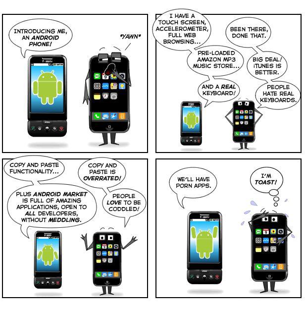 Три пункта, по которым Android превосходит iPhone 5