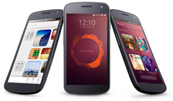 Canonical представили миру ОС Ubuntu для смартфонов