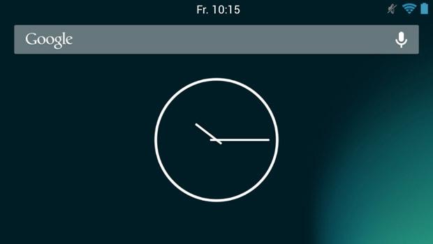 AOKP часы