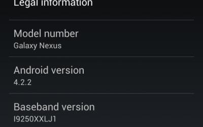 Android 4.2.2 OTA