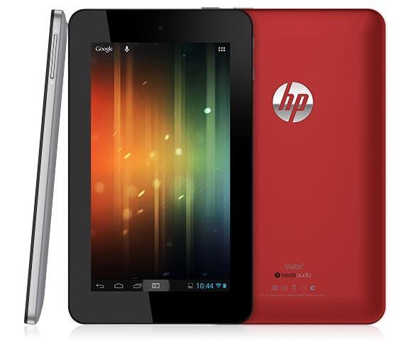 HP начнут покорять рынок Android планшетов со своим Slate 7