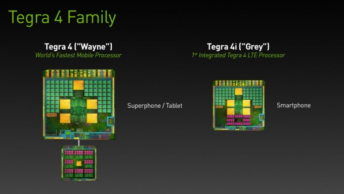 NVIDIA представили миру чип Tegra 4i со встроенным LTE модемом