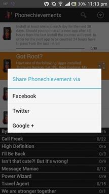 Phonechievements