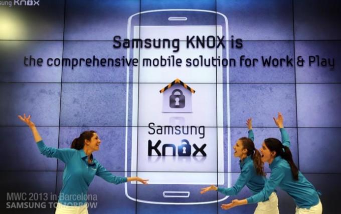 Samsung представили новую систему безопасности KNOX для BYOD