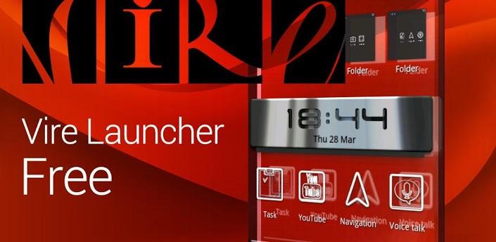 Vire Launcher - приложение для тех, кому не хватает 3D хоумскрина на своем девайсе