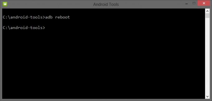 adb reboot