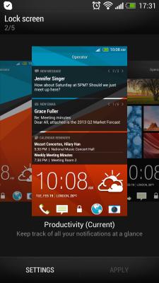 Настраиваем HTC One