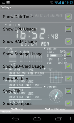 Device Info Ex