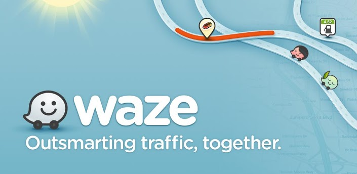 Waze social GPS maps & traffic фзл