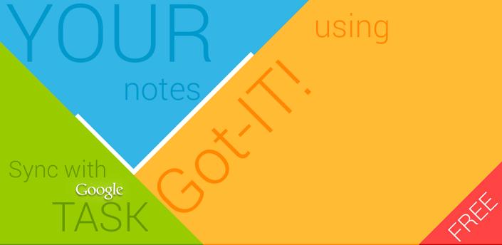 Создаем заметки и списки с Got-IT для Android