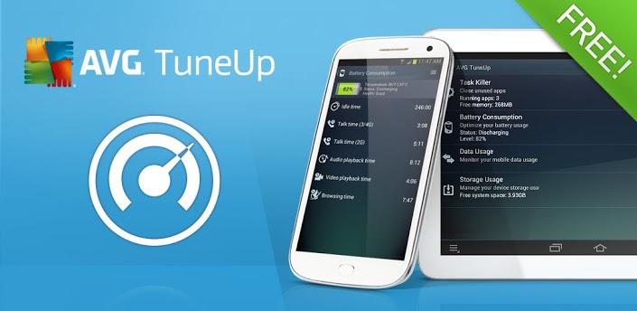 AVG TuneUp: простое и удобное управление вашим Android девайсом