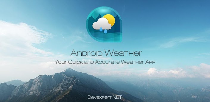 Android Weather и Clock Widget