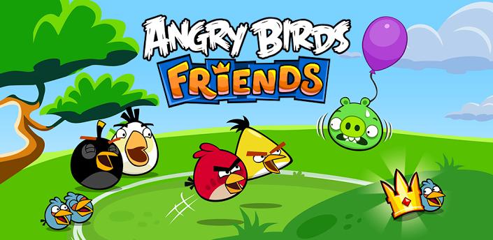 Игра Angry Birds Friends для Android покоряет Google Play