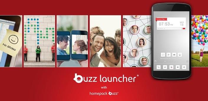 Buzz Launcher для Android - свобода выбора и разнообразие в оформлении!