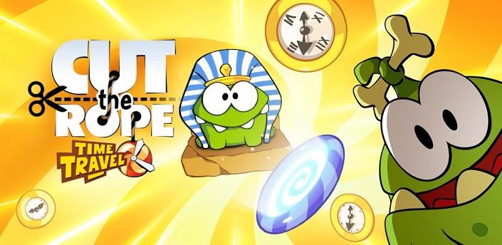Cut the Rope Time Travel - продолжение культовой Android игры уже на Google Play