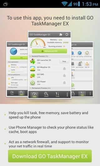 GO App Uninstaller