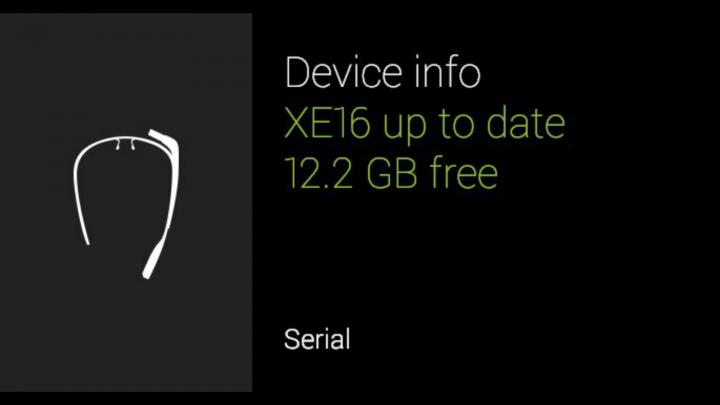 Google Glass XE16 – обновление до KitKat, фотографии в Hangouts, дополнительные голосовые команды и многое другое