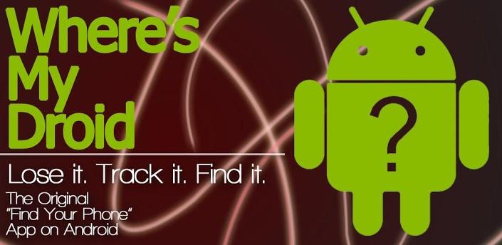 Wheres My Droid - очень удобный способ найти свой Android смартфон