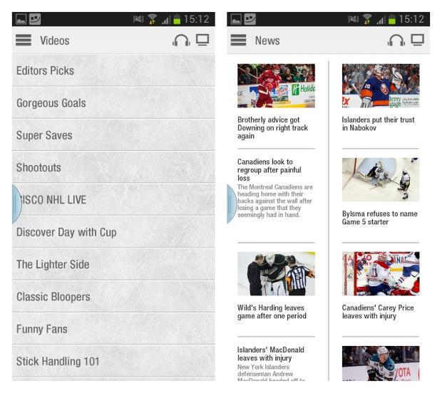 Хоккейные приложения для вашего Android девайса