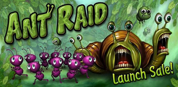 Ant Raid - необычный микс tower defense и RTS