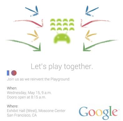 Google I/O 2013: чего стоит ожидать от конференции