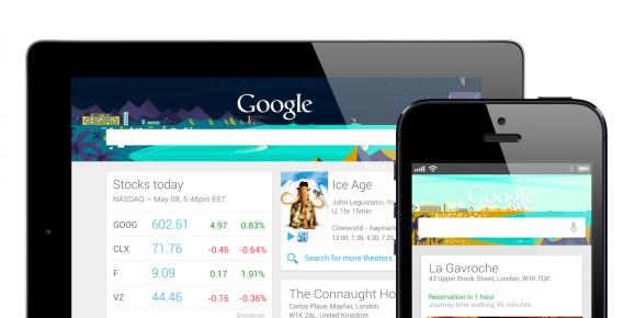Google Now теперь и на iOS