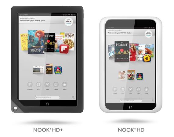 Google Play постепенно приходит на Nook HD и Nook HD+