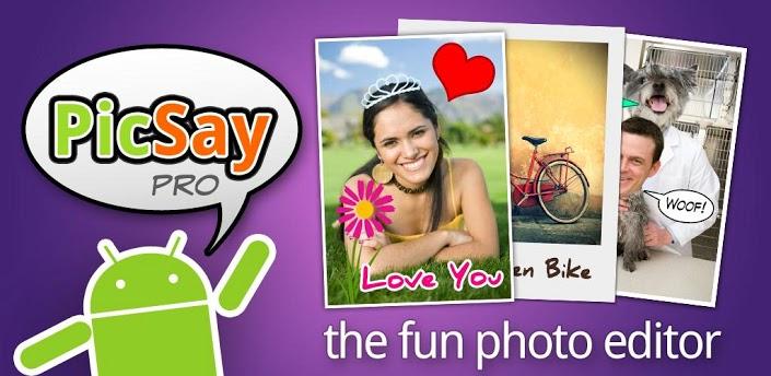 PicSay Pro Photo Editor - простой и многофункциональный редактор фотографий для Android