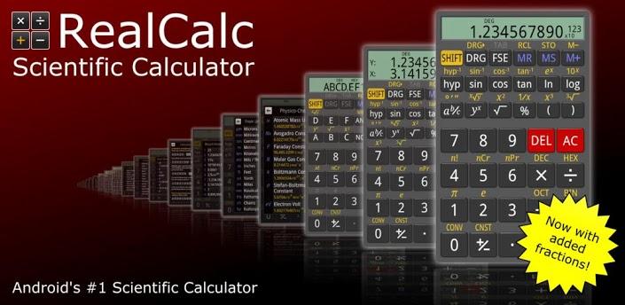 RealCalc Plus - самый мощный Android калькулятор