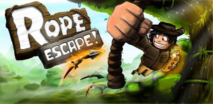 Rope Escape: побег от туземцев на Google Play