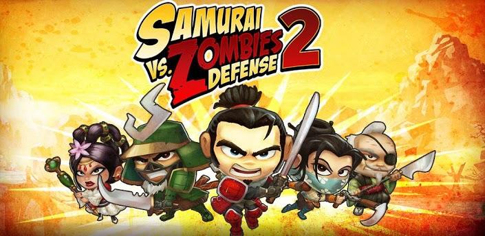 SAMURAI vs ZOMBIES DEFENSE 2 - сиквел полюбившейся всем defense игры